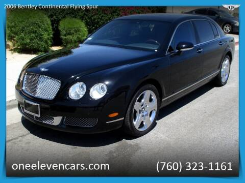 2006 Bentley Continental for sale at One Eleven Vintage Cars in Palm Springs CA
