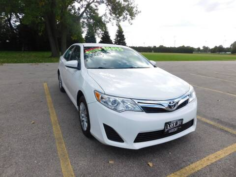 2012 Toyota Camry for sale at Lot 31 Auto Sales in Kenosha WI