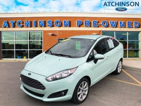 2018 Ford Fiesta for sale at Atchinson Ford Sales Inc in Belleville MI