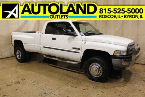 2001 Dodge Ram Pickup 3500 for sale at AutoLand Outlets Inc in Roscoe IL