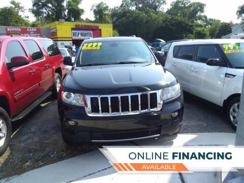 2013 Jeep Grand Cherokee for sale at Marino's Auto Sales in Laurel DE