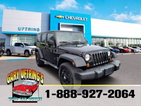 2009 Jeep Wrangler Unlimited for sale at Gary Uftring's Used Car Outlet in Washington IL