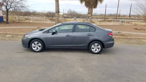 2013 Honda Civic for sale at Ryan Richardson Motor Company in Alamogordo NM