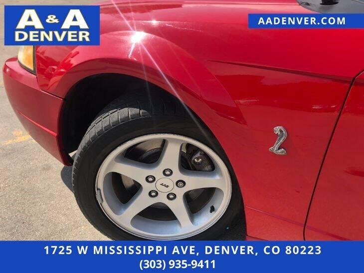 1999 Ford Mustang SVT Cobra 2dr Convertible - Denver CO