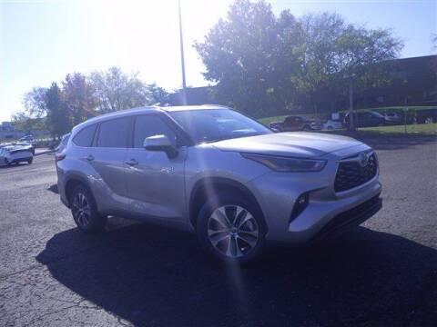 2021 Toyota Highlander Hybrid for sale at BEAMAN TOYOTA GMC BUICK in Nashville TN