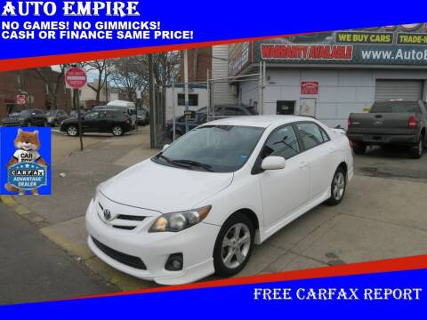 2011 Toyota Corolla for sale at Auto Empire in Brooklyn NY
