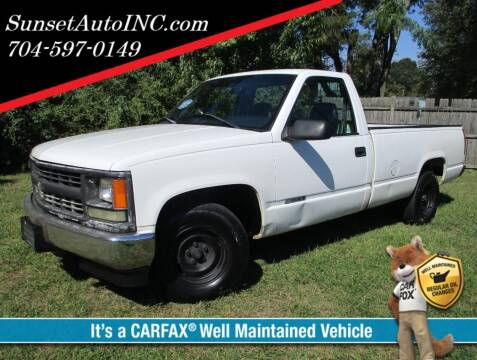1998 Chevrolet C/K 1500 Series for sale at Sunset Auto in Charlotte NC