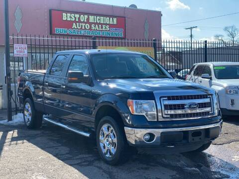 2014 Ford F-150 for sale at Best of Michigan Auto Sales in Detroit MI