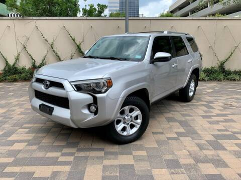 2014 Toyota 4Runner for sale at ROGERS MOTORCARS in Houston TX