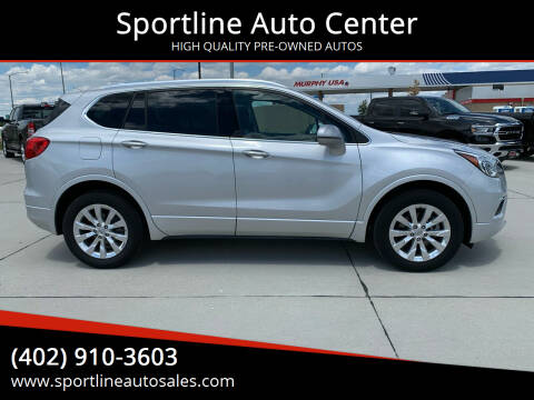 2017 Buick Envision for sale at Sportline Auto Center in Columbus NE