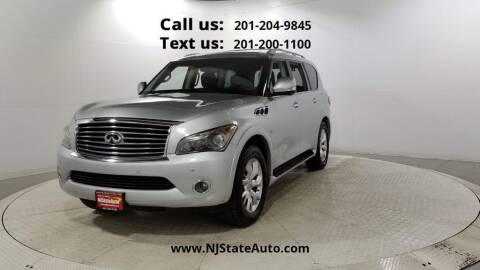 2014 Infiniti QX80 for sale at NJ State Auto Used Cars in Jersey City NJ