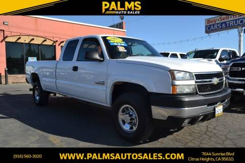 2007 Chevrolet Silverado 2500HD Classic for sale at Palms Auto Sales in Citrus Heights CA