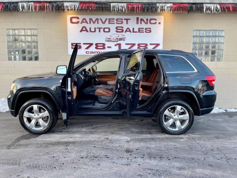 2012 Jeep Grand Cherokee for sale at Camvest Inc. Auto Sales in Depew NY