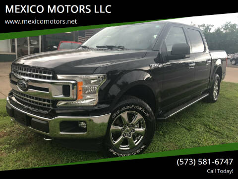 2018 Ford F-150 for sale at MEXICO MOTORS LLC in Mexico MO