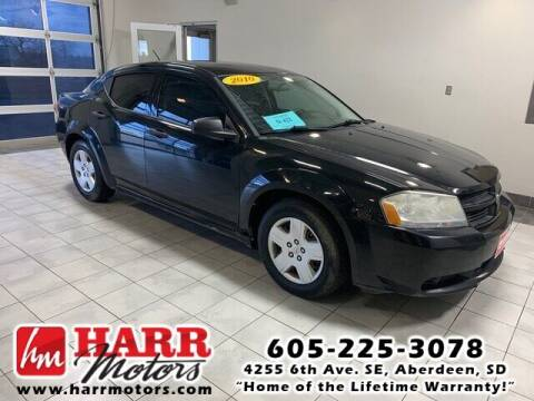 2010 Dodge Avenger for sale at Harr's Redfield Ford in Redfield SD
