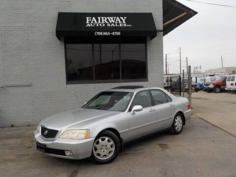 2000 Acura RL for sale at FAIRWAY AUTO SALES, INC. in Melrose Park IL