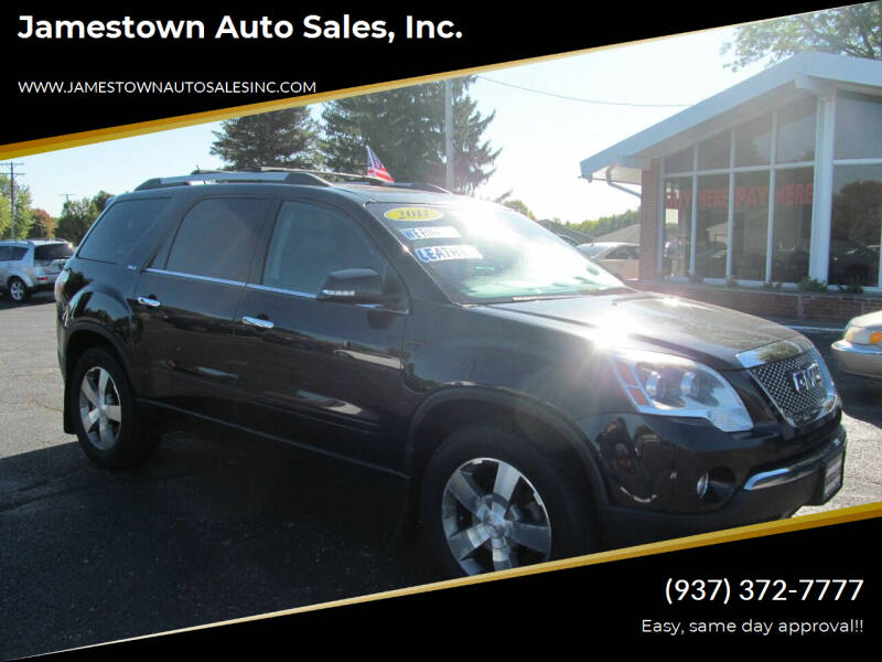 2011 GMC Acadia for sale at Jamestown Auto Sales, Inc. in Xenia OH
