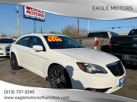 2012 Chrysler 200 for sale at Eagle Motors in Hamilton OH