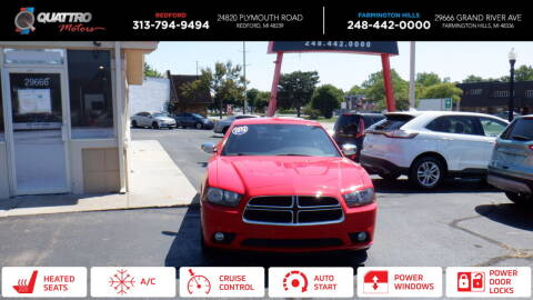 2014 Dodge Charger for sale at Quattro Motors 2 - 1 in Redford MI