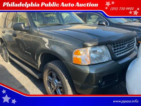 2004 Ford Explorer for sale at Philadelphia Public Auto Auction in Philadelphia PA