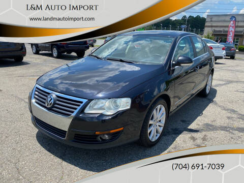 2010 Volkswagen Passat for sale at L&M Auto Import in Gastonia NC