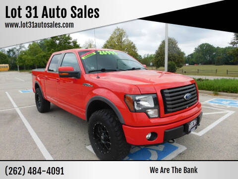 2012 Ford F-150 for sale at Lot 31 Auto Sales in Kenosha WI
