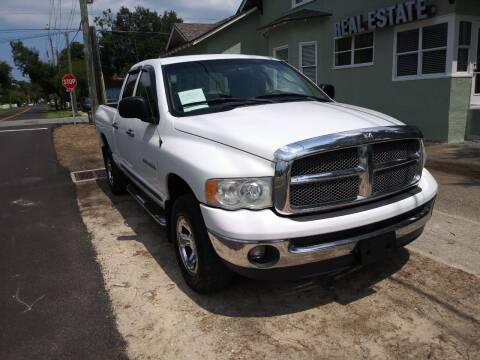 2002 Dodge Ram Pickup 1500 for sale at D & D Detail Experts / Cars R Us in New Smyrna Beach FL
