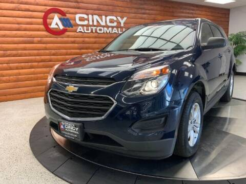 2017 Chevrolet Equinox for sale at Dixie Motors in Fairfield OH