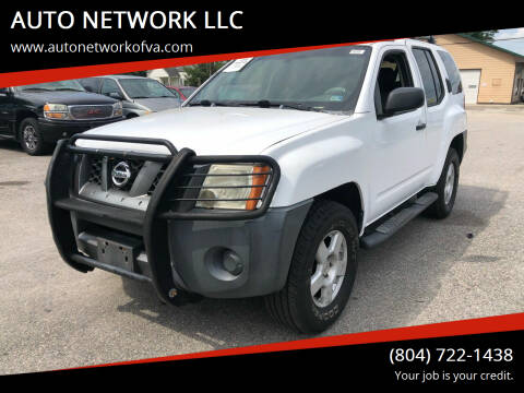 2005 Nissan Xterra for sale at AUTO NETWORK LLC in Petersburg VA