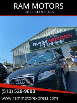 2005 Audi A4 for sale at RAM MOTORS in Cincinnati OH