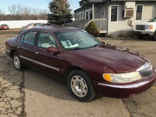2002 Lincoln Continental for sale at WELLER BUDGET LOT in Grand Rapids MI