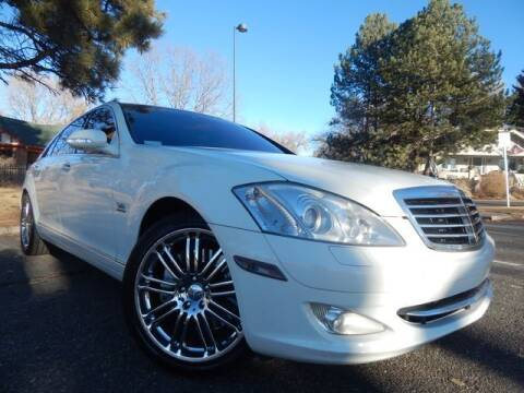 2008 Mercedes-Benz S-Class for sale at Altitude Auto Sales in Denver CO