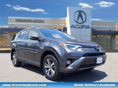 2018 Toyota RAV4 for sale at Precision Acura of Princeton in Lawrence Township NJ