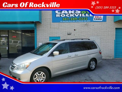 2005 Honda Odyssey for sale at Cars Of Rockville in Rockville MD