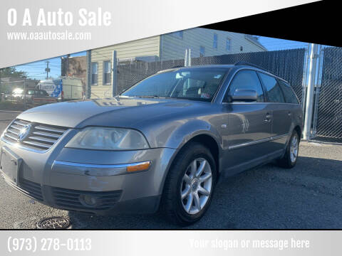 2004 Volkswagen Passat for sale at O A Auto Sale in Paterson NJ