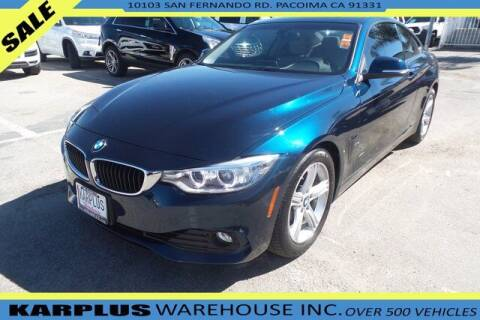 2014 BMW 4 Series for sale at Karplus Warehouse in Pacoima CA