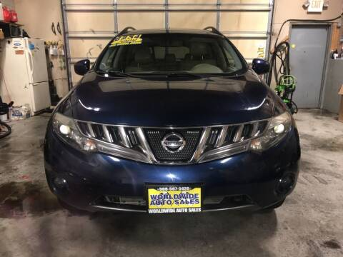 2009 Nissan Murano for sale at Worldwide Auto Sales in Fall River MA