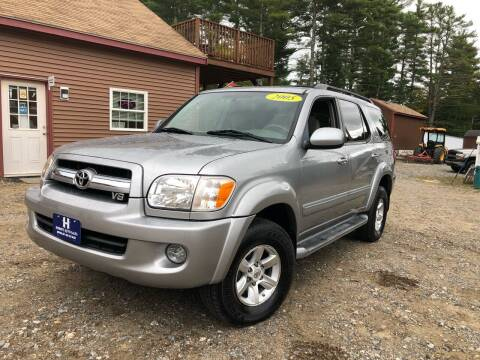 2005 Toyota Sequoia for sale at Hornes Auto Sales LLC in Epping NH