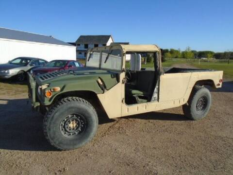 2001 HUMVEE M998 for sale at SWENSON MOTORS in Gaylord MN