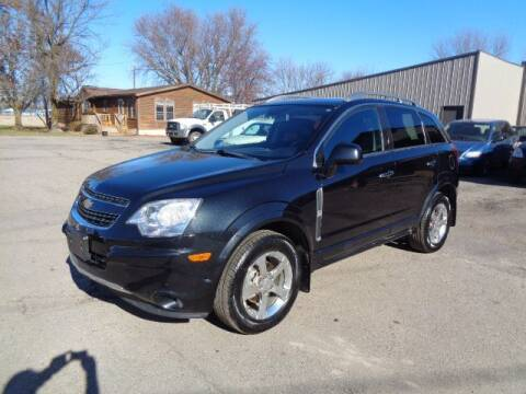 2012 Chevrolet Captiva Sport for sale at COUNTRYSIDE AUTO INC in Austin MN