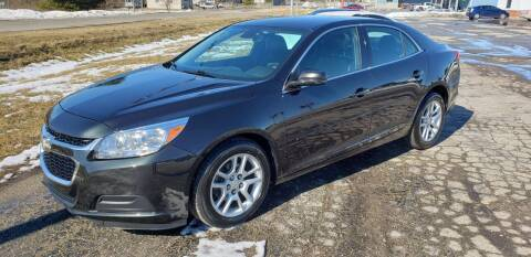2015 Chevrolet Malibu for sale at Adams Enterprises in Knightstown IN