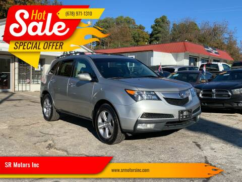 2011 Acura MDX for sale at SR Motors Inc in Gainesville GA