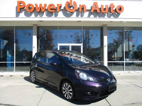 2013 Honda Fit for sale at Power On Auto LLC in Monroe NC