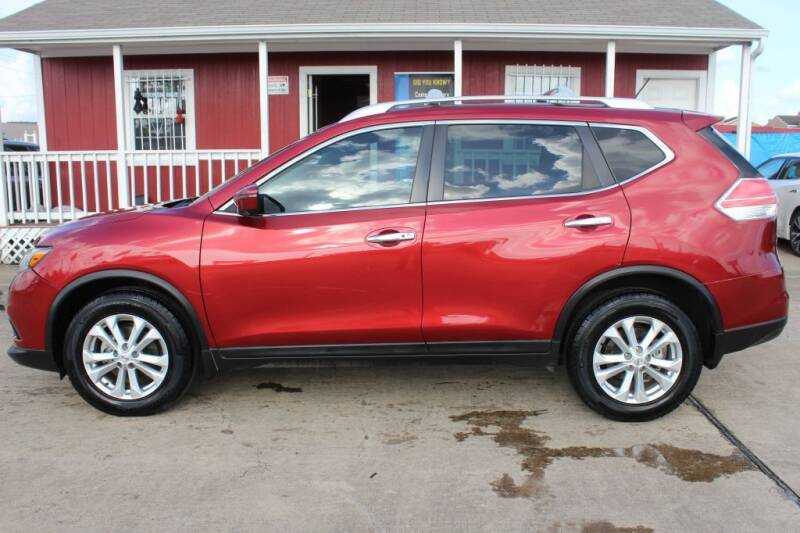 2016 Nissan Rogue for sale at AMT AUTO SALES LLC in Houston TX