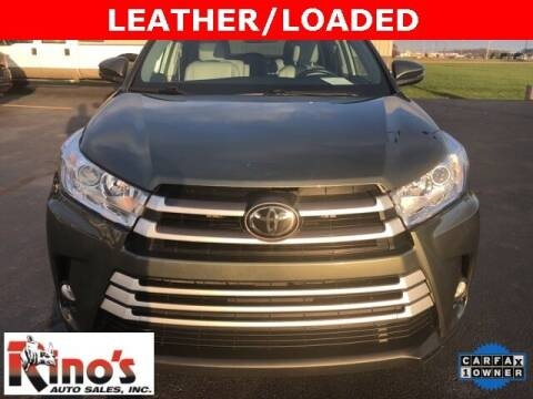2018 Toyota Highlander for sale at Rino's Auto Sales in Celina OH