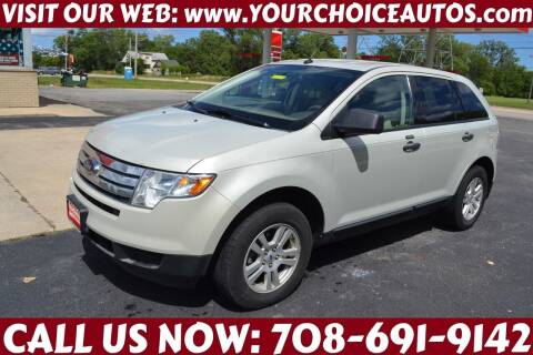2007 Ford Edge for sale at Your Choice Autos - Crestwood in Crestwood IL