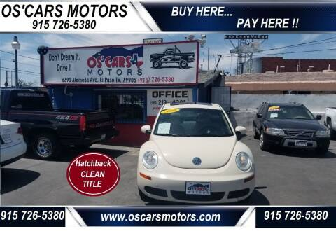 2009 Volkswagen New Beetle for sale at Os'Cars Motors in El Paso TX