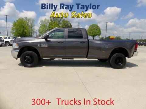 2018 RAM Ram Pickup 3500 for sale at Billy Ray Taylor Auto Sales in Cullman AL