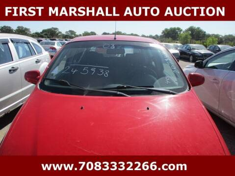 2008 Chevrolet Aveo for sale at First Marshall Auto Auction in Harvey IL