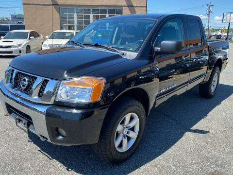 2012 Nissan Titan for sale at MAGIC AUTO SALES - Magic Auto Prestige in South Hackensack NJ